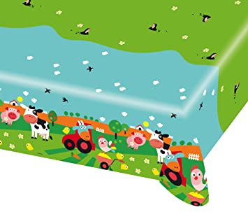 1 Mantel * Farm FUN * DE Amscan para fiestas de cumpleaños ...