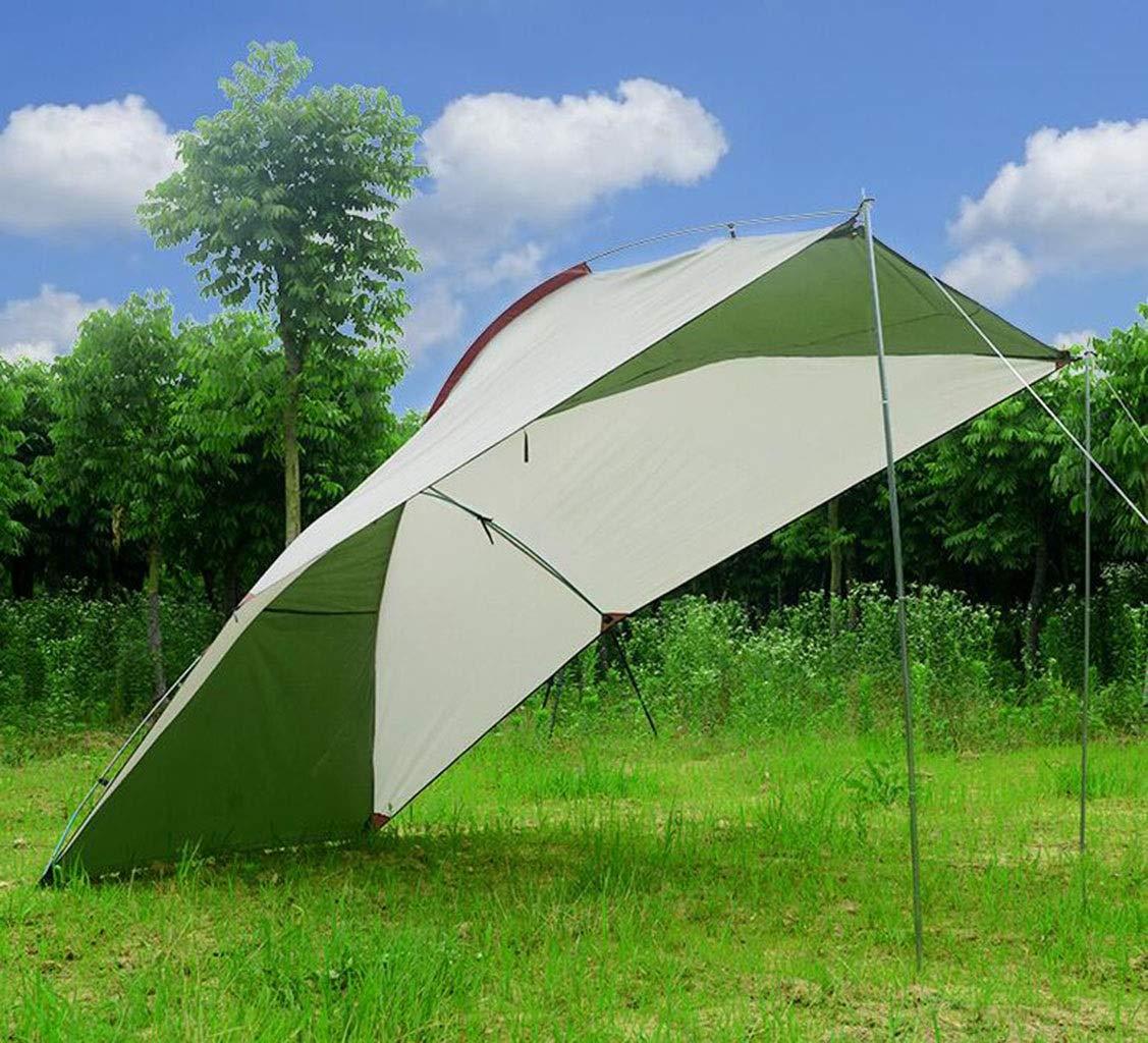 XGHW Camping bÂche de Voiture Parapluie Couverture de Tente abri de Voiture Mobile Pliable Anti-UV Preuve de l'eau Vent tempête de Neige grêle for Le Camping randonnée Festivals  -
