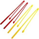 Haktoys Replacement Fishing Poles Kit Rods Set (Pack of 4) Non-magnetic Poles Works with Haktoys Fishing Games and other Compatible Fishing Board Games