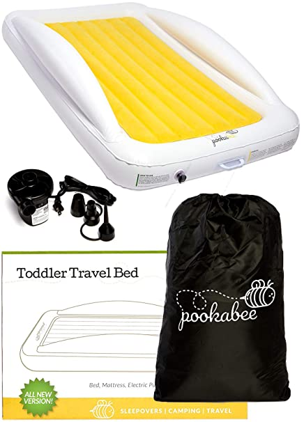 Toddler Bed Air Mattress.Amazon Com Pookabee Fast Inflate Toddler Travel Bed Air