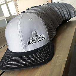 9db431e82bd6c Amazon.com  Richardson Black 112 Mesh Back Trucker Cap Snapback Hat ...