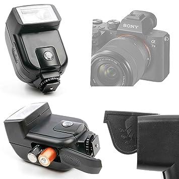 DURAGADGET Flash para cámara Sony Alpha ILCE7M3, Sony ? 7R III ...