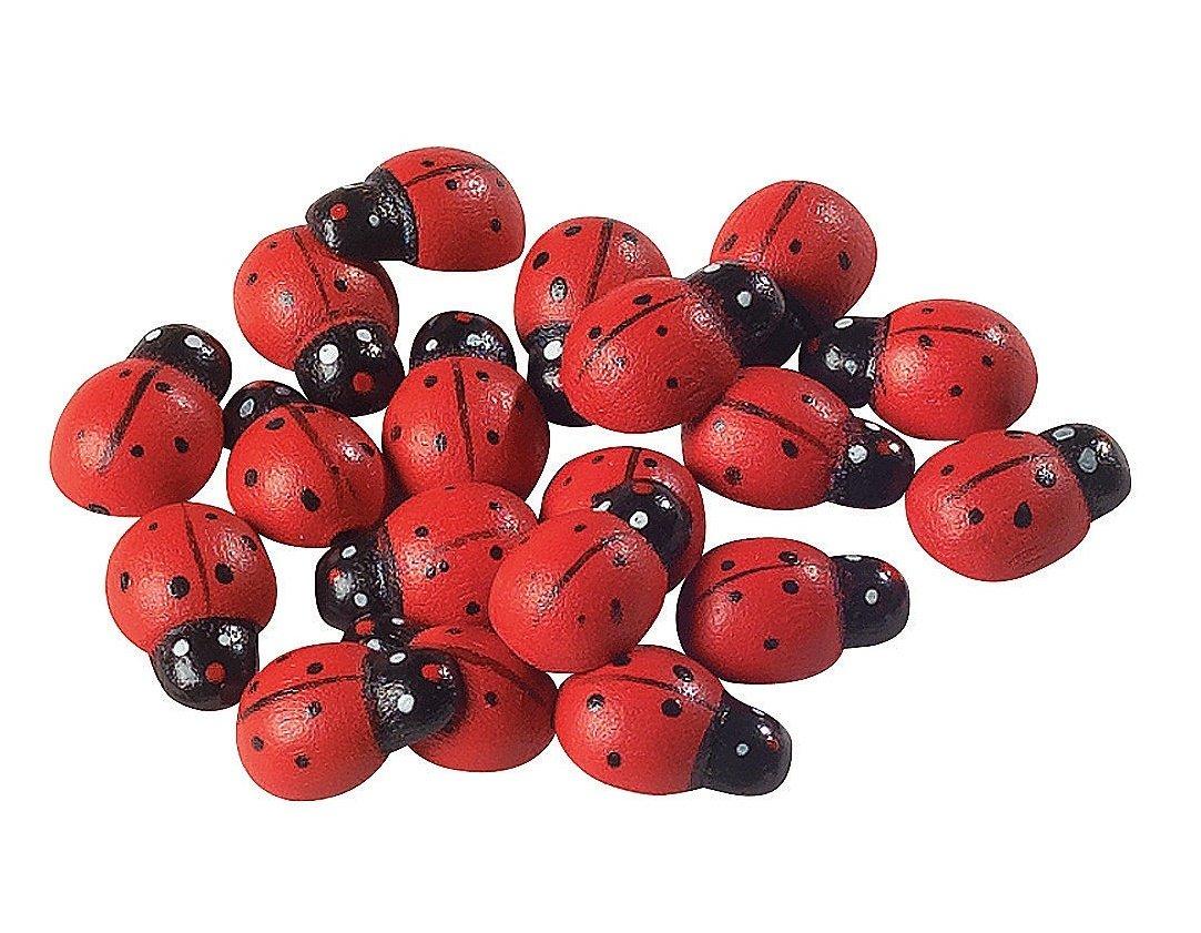 Fun Express Self-Adhesive Ladybugs - 50 Pieces