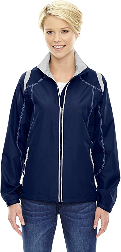78198 North End Women/'s Inside Storm Placket Polyester Textured Fleece Jacket