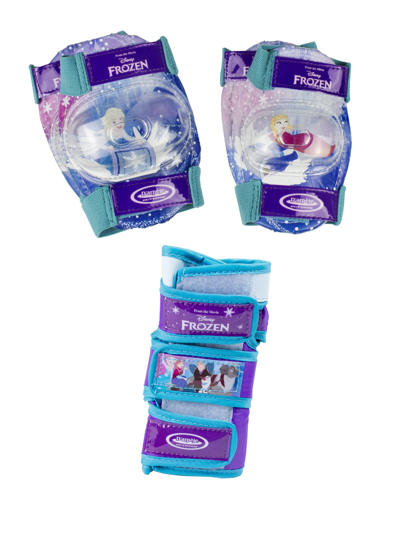 OFFICIAL Disney Frozen Safety Pad Set   Knee, Elbow & Wrist Guards