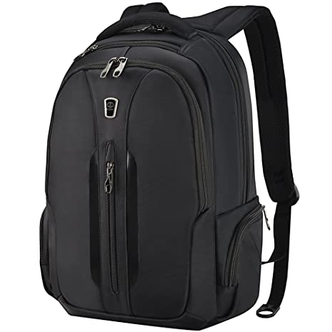 fda5b10db3ba Amazon.com  Travel Laptop Backpack 15.6 Inch Anti-Theft Water Resistant  Computer Bag for Men Women Black by SLOTRA  Computers   Accessories