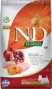 Farmina Natural & Delicious Grain-Free Pumpkin Chicken & Pomegranate Adult Dog Mini 5.5 lb