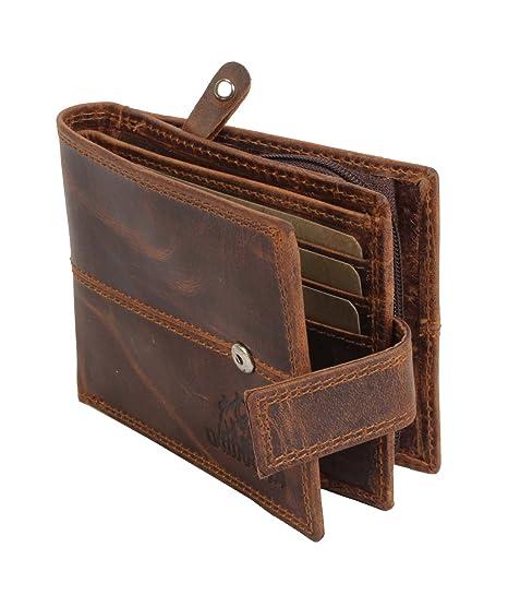 Bull Kraft Leather Men's Wallet  BK 10105 01_Brown