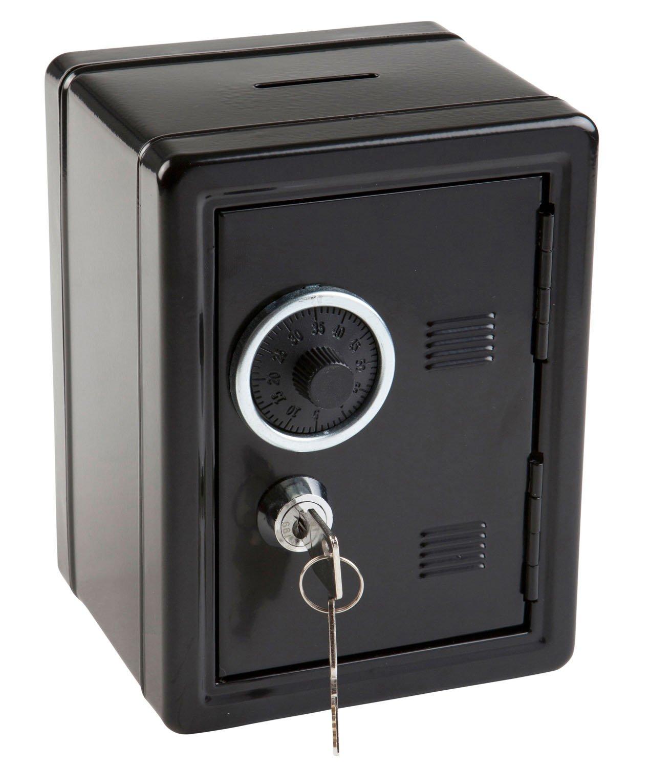 Idena 50034/Spar Coffre-fort 120/x 105/x 160/mm Noir