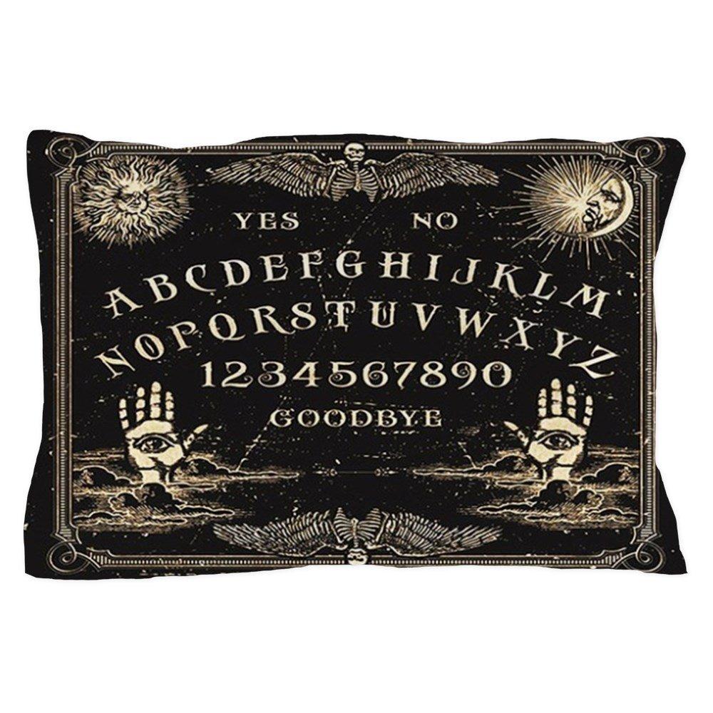 Cushion Ouija Board Rectangular Black 50x30cm