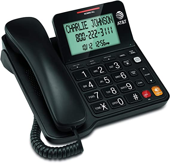 AT&T CL2940 Corded Phone with Caller ID/Call waiting
