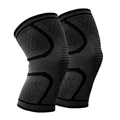 d94adf0e3b Beskey Knee Support (Pair) Anti Slip Knee Brace Super Elastic Breathable  Knee Compression Sleeve Help Joint Pain Relief Arthritic Sufferer Recovery  from ...