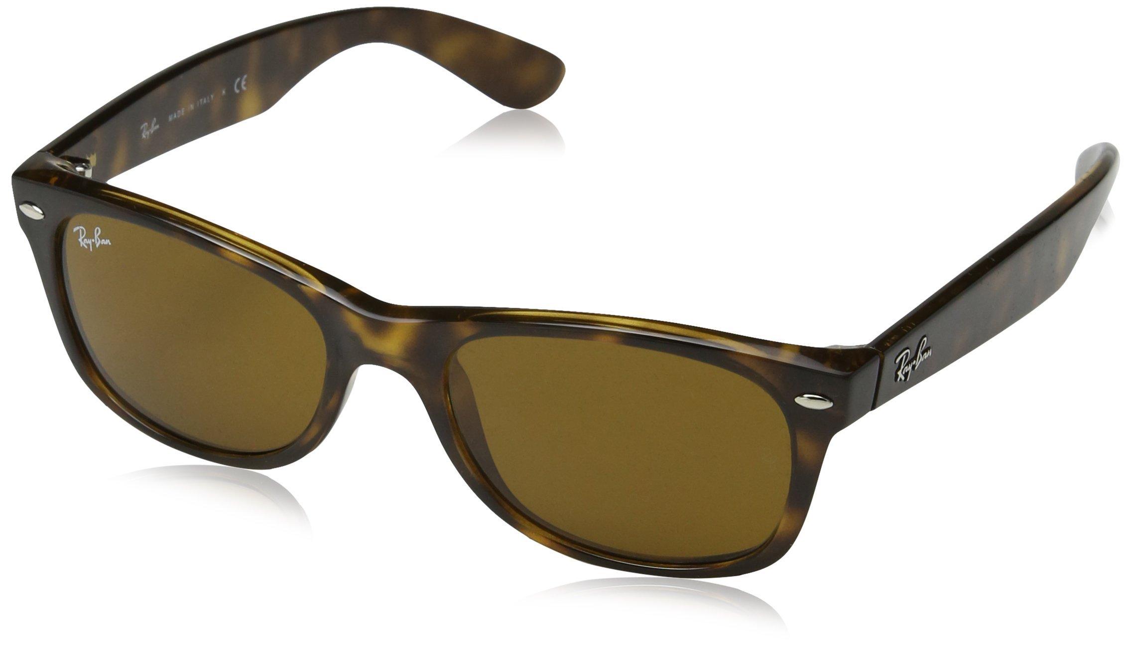 Ray-Ban New Wayfarer Classic, Light Tortoise Frame/Brown Lens