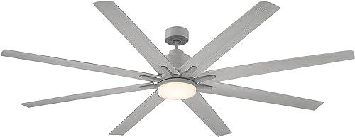 Savoy House 72-5045-8GR-GR Bluffton 72″ 8 Blade Ceiling Fan 72″ W x 15″H