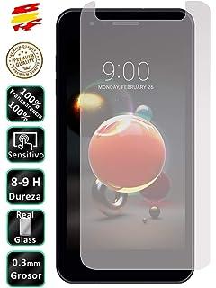 Todo Phone Store 1 Funda Silicona 100/% Transparente Lisa Gel TPU para LG K9 4G 5 Pack - 1 Protector Cristal Vidrio Templado 1 Cristal + 1 Funda