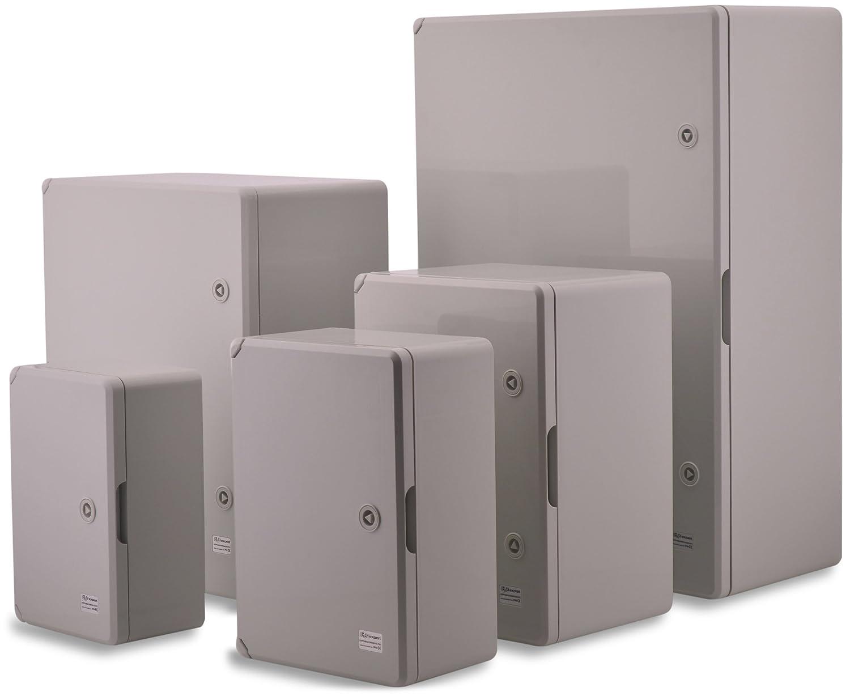 Boxex Pert Wall Rack/ /Case 400X500X175/MM IP 65//Grey Electrical Distribution Box
