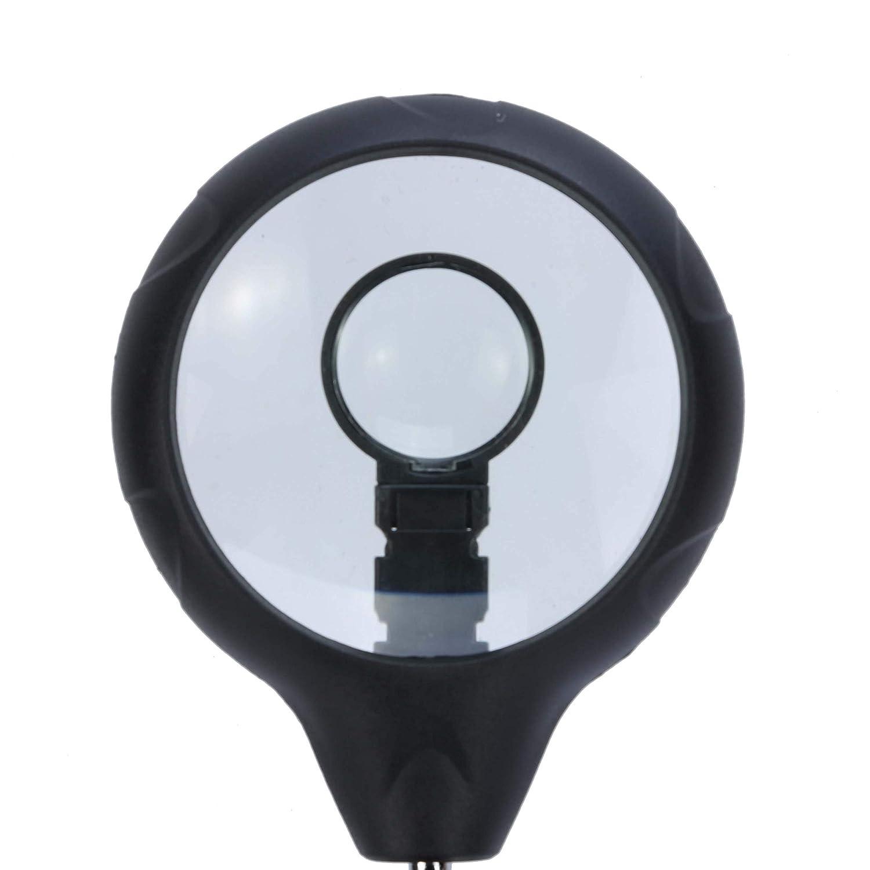 ENJOHOS Lente dingrandimento 2.5x 7.5x 10x Lente dingrandimento 5 LED Saldatore multifunzionale di terza mano per ingegnere elettronico Orologiaio Riparazione di orologi Saldatura