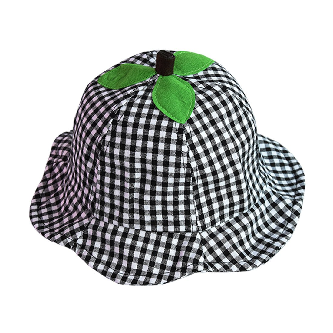 ACVIP Baby Toddler Girls Checkered Bucket Sun Hat