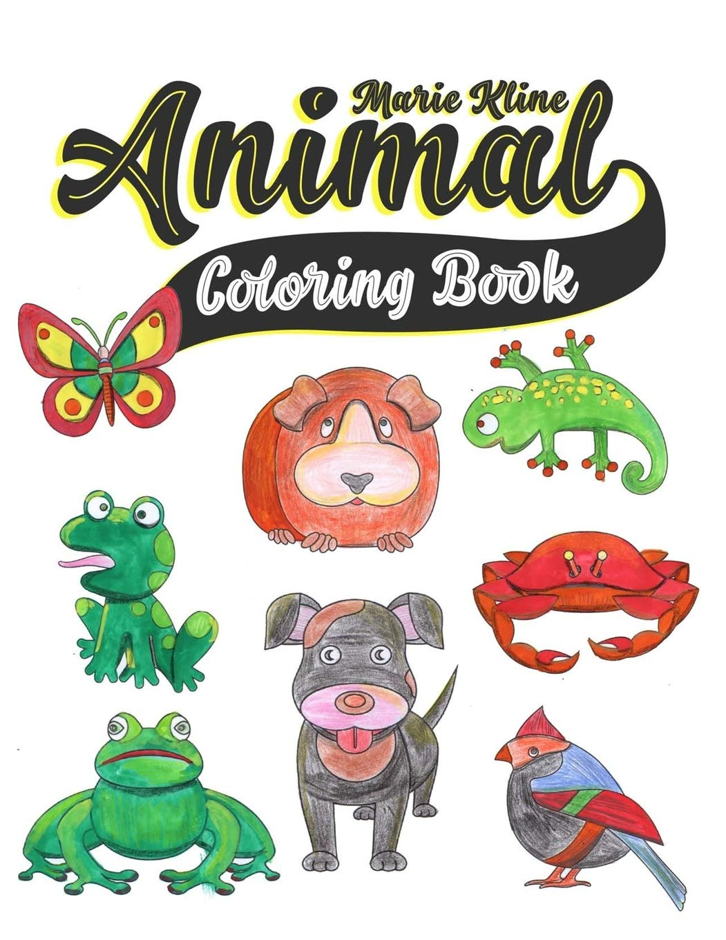 Animal Coloring Book: Toddler Coloring Book - for toddlers ...