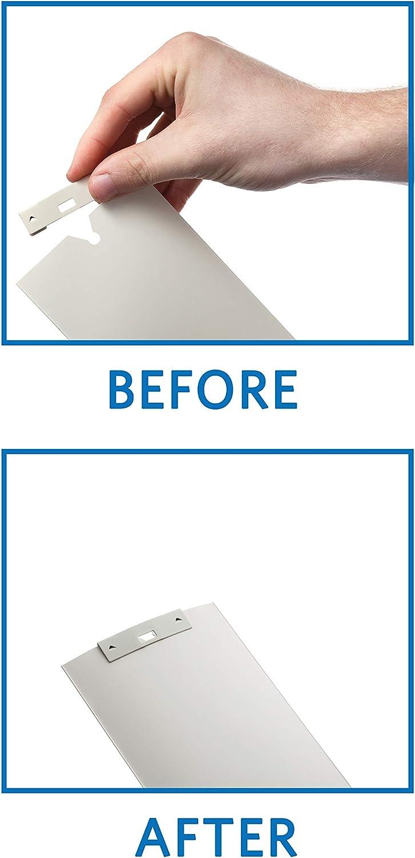 Perfect Order Vertical Blind Repair Vane Savers, Set of 6 (White)