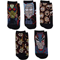 Rick & Morty Ladies Ankle Socks - Don't Deal With The Devil - No Show Low Cut 5-Pair Set