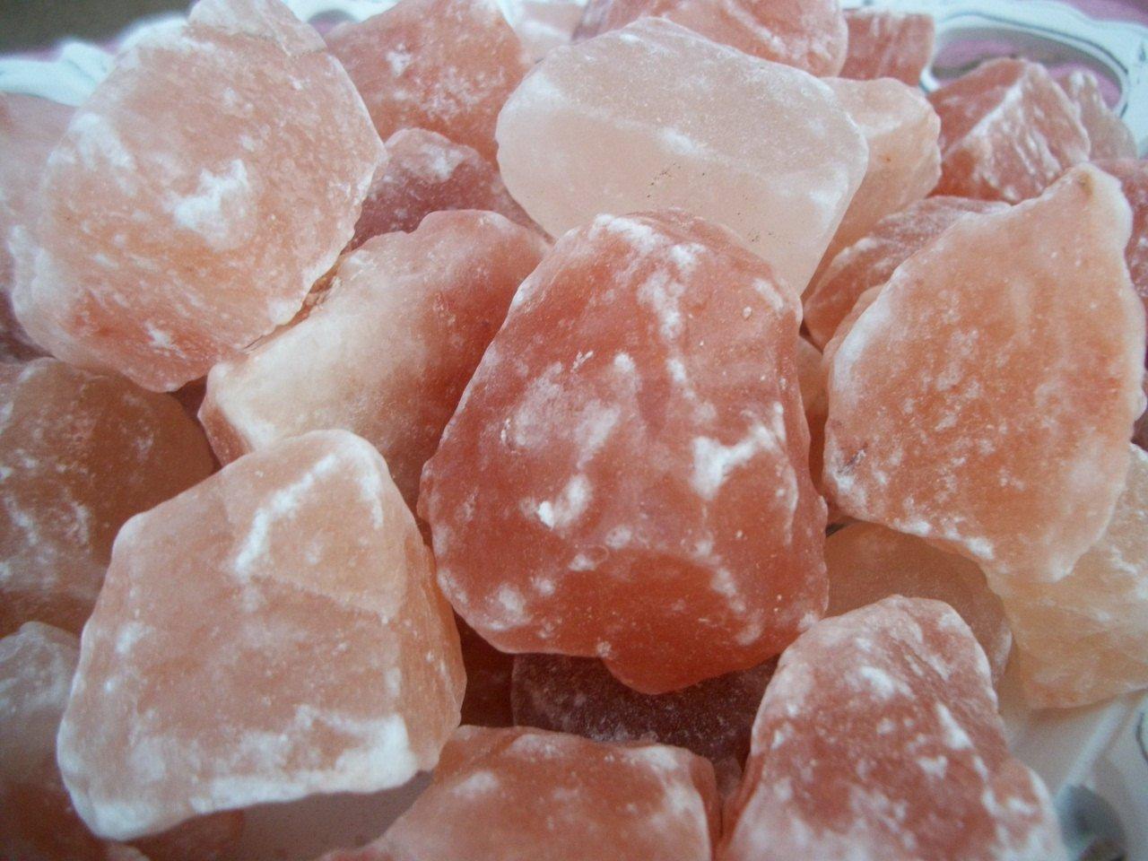 5 Pounds Himalayan Crystal Salt Rocks