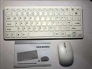 Mini teclado inalámbrico y ratón para SMART TV SONY Bravia KDL-32CX523: Amazon.es: Electrónica