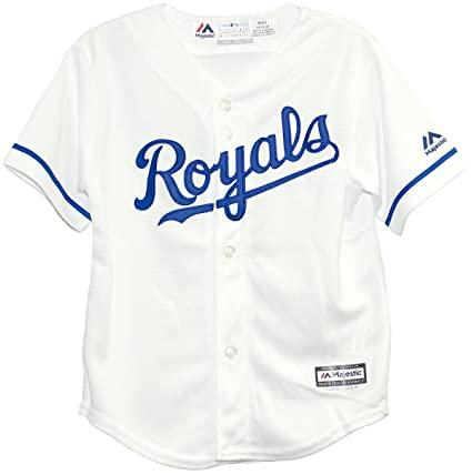 84e69d1f00b Amazon.com   Kansas City Royals Home Cool Base Child Jerseys ...
