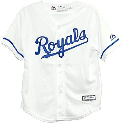 6a3a003393b Image Unavailable. Image not available for. Color: Kansas City Royals Home  Toddler MLB Jersey ...