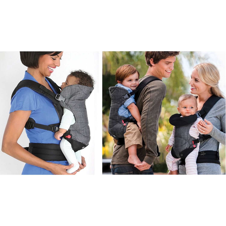ba7df154f12 Amazon.com   Infantino Fusion Carrier-Black   Baby
