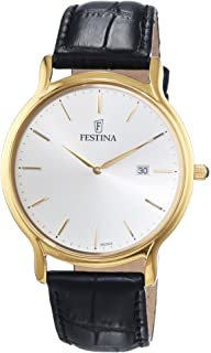 Festina F6829/2 - Mens Watch, Stainless Steel, color: Black