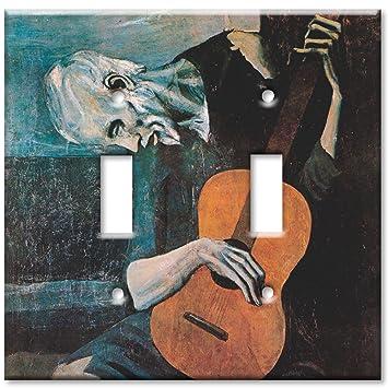 Placas de arte® - Grande Interruptor Placa - Picasso: El viejo ...