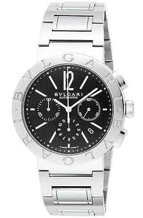 e0d9f20d6bd9 [ブルガリ]BVLGARI 腕時計 BB42BSSDCH ブルガリブルガリ ブラック メンズ [並行輸入品]