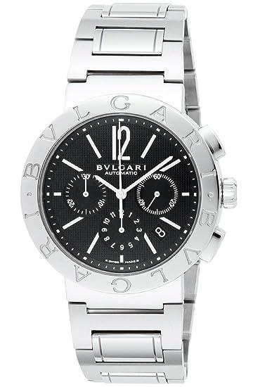 best service 2e197 c8b06 [ブルガリ]BVLGARI 腕時計 BB42BSSDCH ブルガリブルガリ ブラック メンズ [並行輸入品]