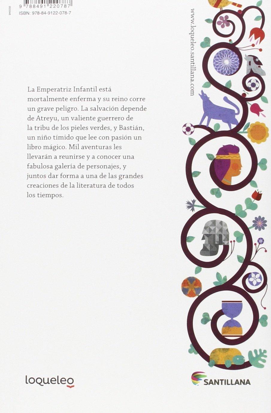 La historia interminable: Amazon.es: Ende, Michael, Sáenz, Miguel ...