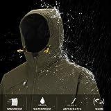 HARD LAND Mens Winter Jackets Waterproof Windproof