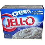 Jell-O OREO cookies 'n cream Instant Pudding & Pie Filling (119g)