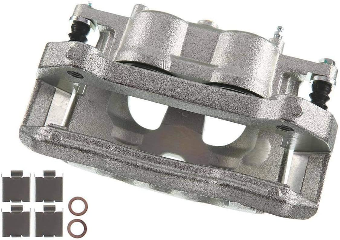 Disc Brake Caliper with Bracket Compatible with Ford F-150 2012-2016 Lobo Front Left Driver