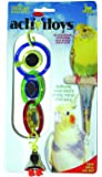 JW Pet Insight Triple Mirror with Bell Bird Toy, 7""