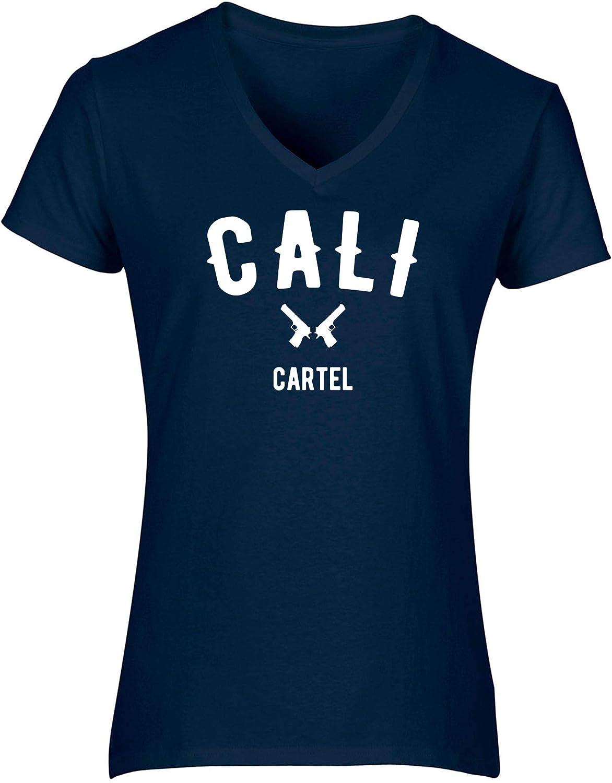 HippoWarehouse Cali Cartel Camiseta de Manga Corta con ...