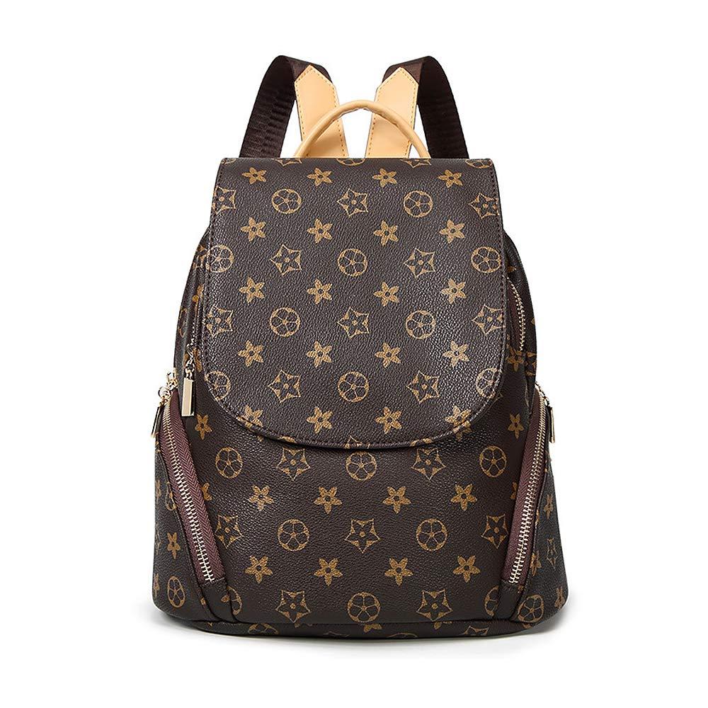 Olyphy Fashion Leather Backpack Purse for Women, Designer PU Shoulder Bag Handbags Travel Purse (Stlye 4)