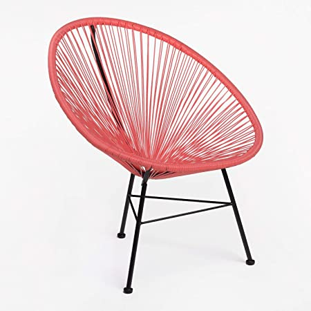 SKLUM Chaise New Acapulco Corail (Plus de Couleurs)