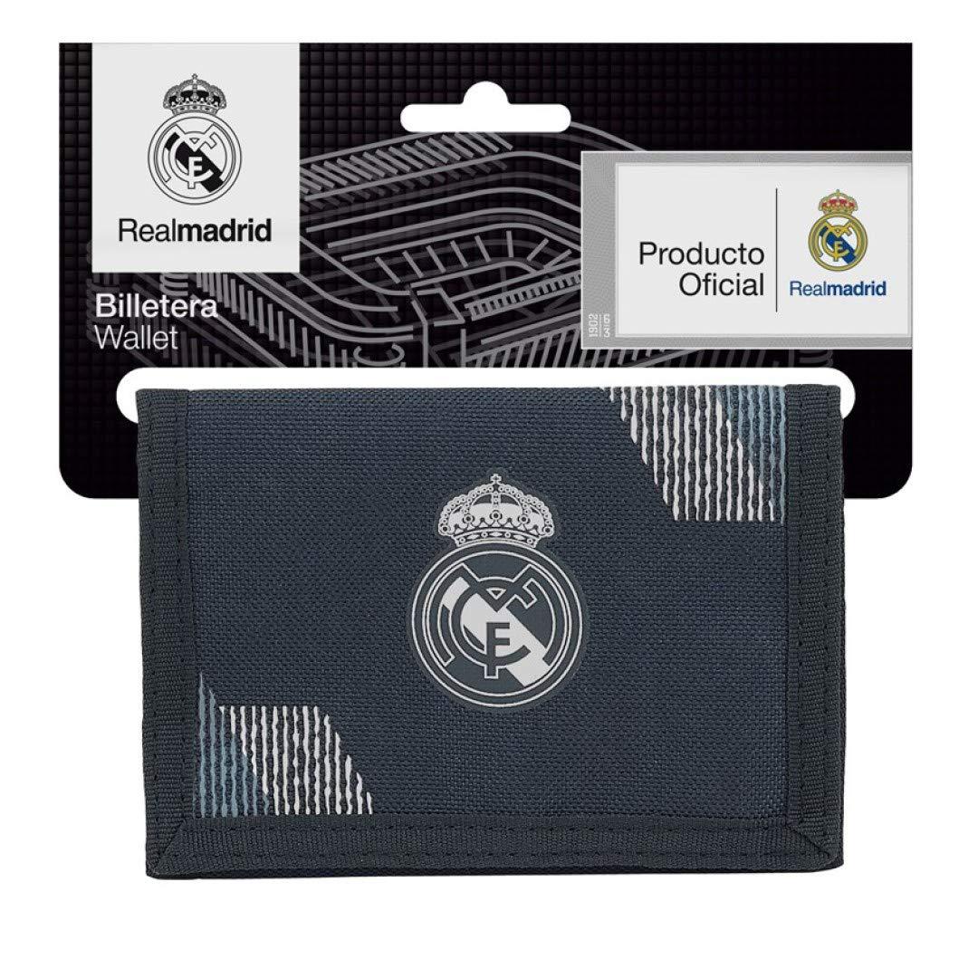 Safta Real Madrid 2 Monedero 13 cm, Azul