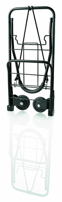 Travel Smart by Conair TS-34FFC Flat Folding Multi-Use Luggage Cart, Black TS34F