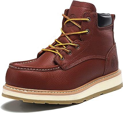Amazon.com: HANDMEN Work Boots for Men