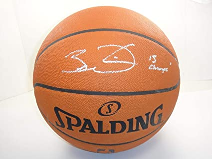 2cce7618259 Image Unavailable. Image not available for. Color  Dwyane Wade quot 13  Champs quot  Signed Official Nba Leather Basketball Autograph - PSA DNA