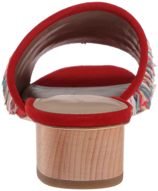 Donald J Pliner Women's Reise Slide Sandal, Red/Multi, 9 Medium US by Donald J Pliner (Image #2)