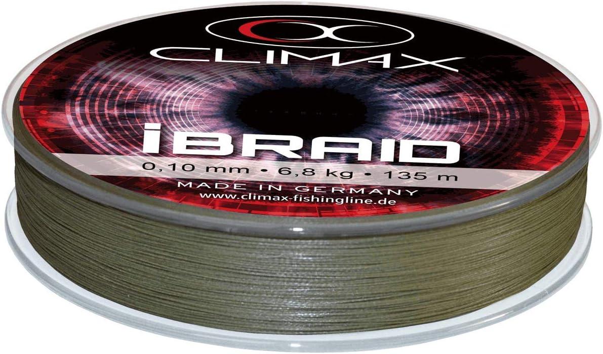 Climax IBraid Olive 135 M; 0,10 Mm