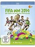 FIFA WM 2014 - Alle Spiele der deutschen Mannschaft (4 Discs) [Blu-ray]