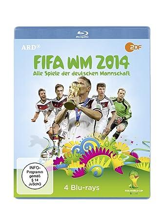 Fifa Wm 2014 Alle Spiele Der Deutschen Mannschaft 4 Discs